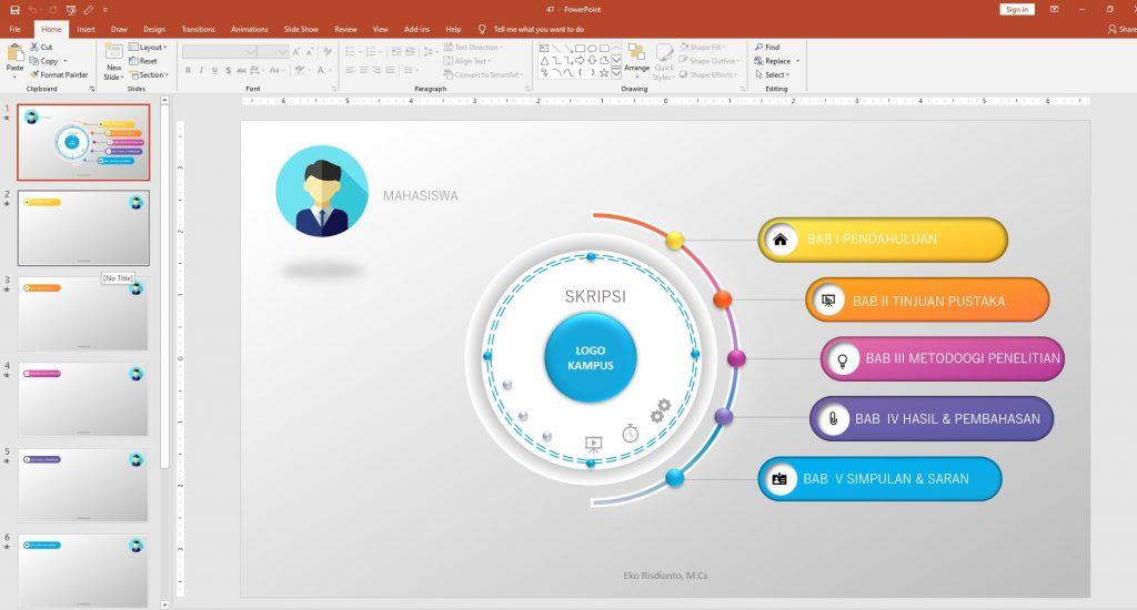 Free Template Powerpoint Presentasi Yang Menarik Di Powerpoint