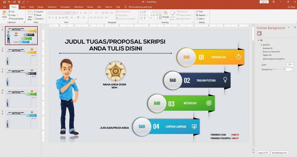 cara membuat presentasi yang menarik di powerpoint