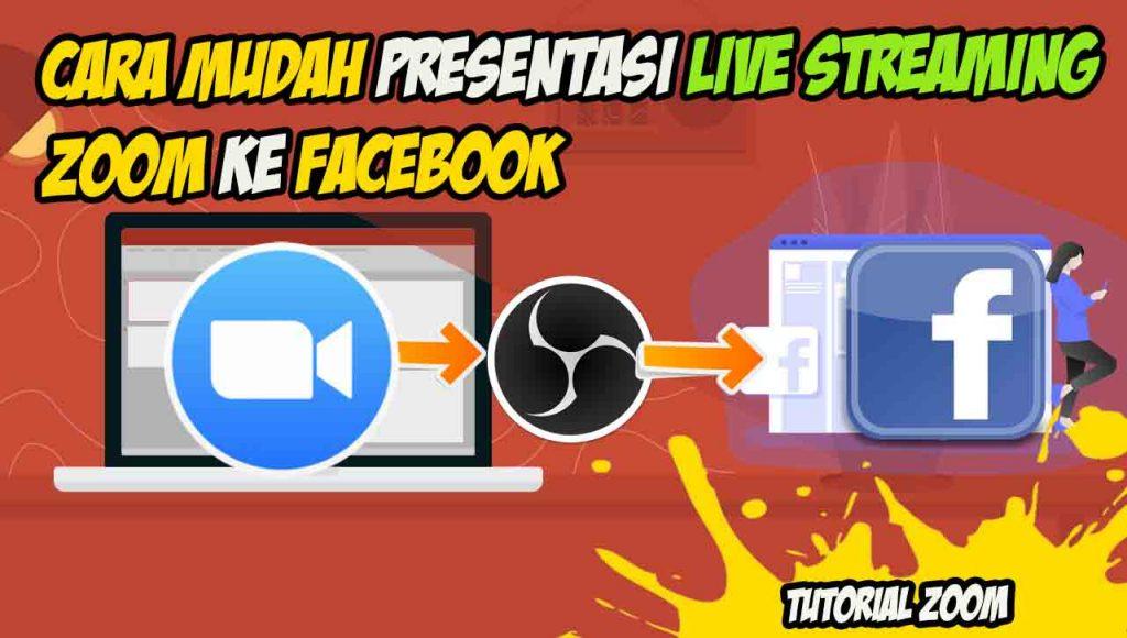streaming zoom ke facebook