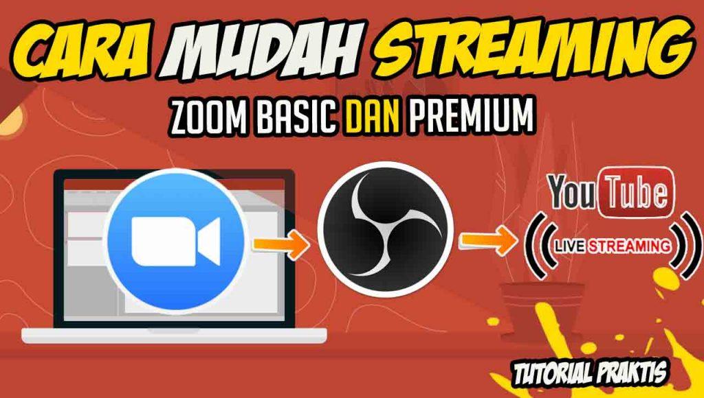 cara streaming zoom