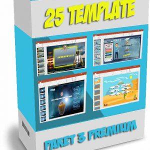 paket template powerpoint