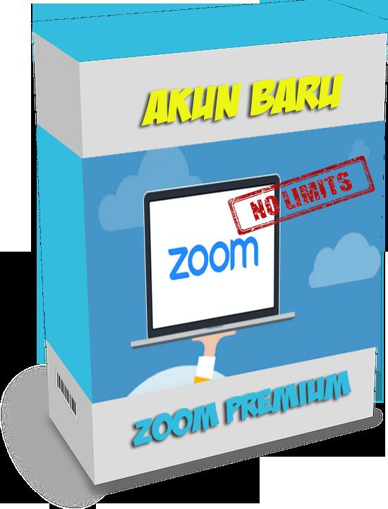 order akun baru zoom premium